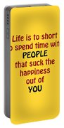 Life Is To Short 5432.02 Portable Battery Charger