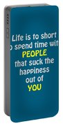 Life Is To Short 5433.02 Portable Battery Charger