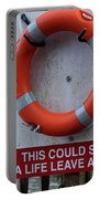 Lifebuoy Theft Portable Battery Charger