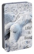 Life's A Beach By Sharon Cummings Portable Battery Charger
