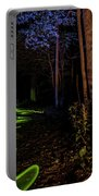 Lighit Painted Forest Scene Portable Battery Charger
