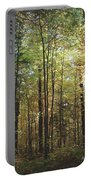 Light Among The Trees Vertical Portable Battery Charger