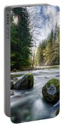 Light Around The Bend Portable Battery Charger