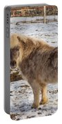 Light Brown Pony Portable Battery Charger
