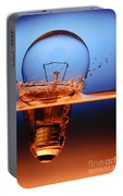 Light Bulb And Splash Water Portable Battery Charger