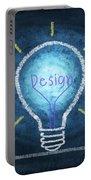 Light Bulb Design Portable Battery Charger