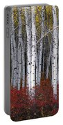 Light In Forest Portable Battery Charger