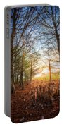 Light In The Cypress Trees II Portable Battery Charger