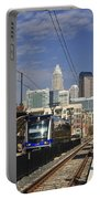 Light Rail In Charlotte Portable Battery Charger