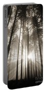 Light Through Forest Portable Battery Charger