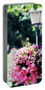 Lighted Flowers Portable Battery Charger