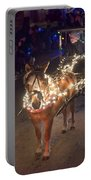 Lighted Pony Portable Battery Charger