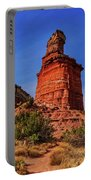 Lighthouse At Palo Duro Canyon Portable Battery Charger