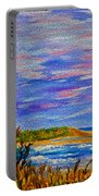Lighthouse- Impressionism- The Coast Portable Battery Charger