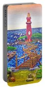 Lighthouse Island Portable Battery Charger