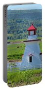 Lighthouse Landscape Three Portable Battery Charger
