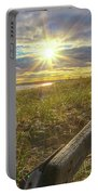 Lighthouse Manistique Boardwalk -5306 Portable Battery Charger