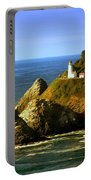 Lighthouse On The Oregon Coast Portable Battery Charger