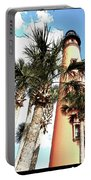 Lighthouse Palms Portable Battery Charger