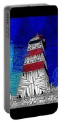 Lighthouse Stained Glass  Portable Battery Charger