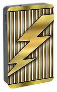 Lightning Bolt Portable Battery Charger