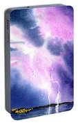 Lightning Strike Portable Battery Charger