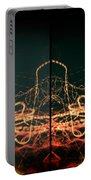 Lightpainting Quads Art Print Photograph 1 Portable Battery Charger