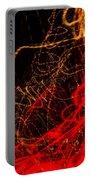 Lightpainting Single Wall Art Print Photograph 2 Portable Battery Charger