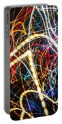 Lightpainting Single Wall Art Print Photograph 3 Portable Battery Charger