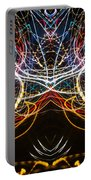 Lightpainting Symmetry Wall Art Print Photograph 1 Portable Battery Charger