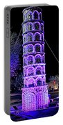 Lights Of The World Leaning Tower Of Pisa Portable Battery Charger