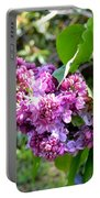 Lilac Branch Portable Battery Charger