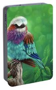 Lilac-breasted Roller Portable Battery Charger