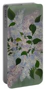 Lilac Flowers Expressing Harmony Portable Battery Charger