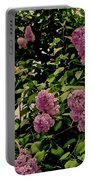 Lilac Garden Portable Battery Charger