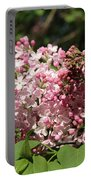 Lilac Pink Portable Battery Charger