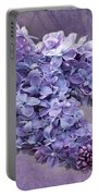 Lilac Spring Portable Battery Charger