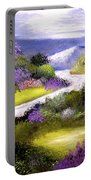 Lilac Valley Portable Battery Charger