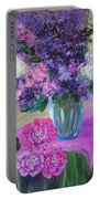 Lilacs 2 Portable Battery Charger