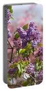 Lilacs And Dogwoods Portable Battery Charger