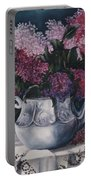 Lilacs And Lace Portable Battery Charger