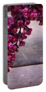 Lilacs In A Vase Portable Battery Charger