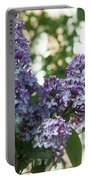 Lilacs In Spring Portable Battery Charger