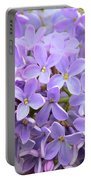 Lilacs-lavender Lovely  Portable Battery Charger