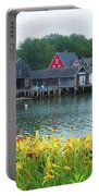 Lilies By The Bay, Cape Porpoise Me Portable Battery Charger