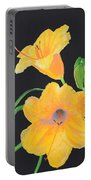 Lilies Of September Portable Battery Charger