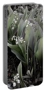 Lilies Of The Valley Mindscape No 2 Portable Battery Charger