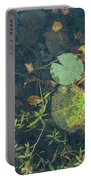 Lilly Pad Close Up  Portable Battery Charger