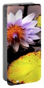 Lillypad In Bloom Portable Battery Charger