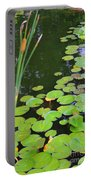 Lillypads And Cattails Portable Battery Charger